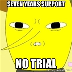 LEMONGRAB - Seven Years Support No trial