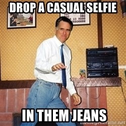 Mom Jeans Mitt - Drop a casual selfie  in them Jeans
