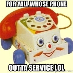 Sinister Phone - For yall whose phone Outta service lol