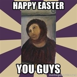 Retouched Ecce Homo - HAPPY EASTER YOU GUYS