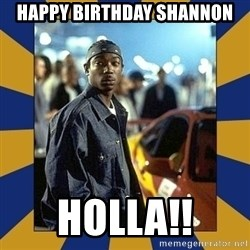 JaRule - Happy Birthday Shannon HOLLA!!