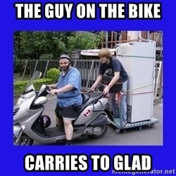 Motorfezzie - The guy on the bike Carries to Glad