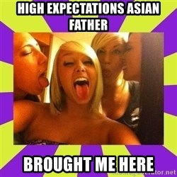 photo - high expectations asian father brought me here
