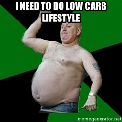 The Football Fan - I NEED TO DO LOW CARB LIFESTYLE