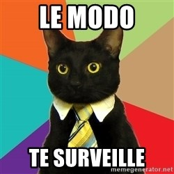 BusinessCat - Le modo te surveille