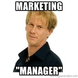 "Stupid Opie - Marketing ""Manager"""