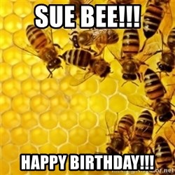 Honeybees - Sue Bee!!! happy birthday!!!