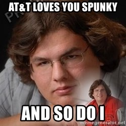 PTSD Drumline Kid - at&t loves you Spunky and so do I
