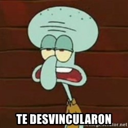 no patrick mayonnaise is not an instrument -  Te desvincularon