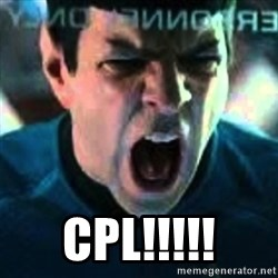 Spock screaming Khan -  CPL!!!!!