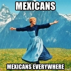 Sound Of Music Lady - Mexicans Mexicans everywhere