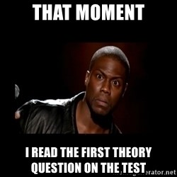 Kevin Hart Grandpa - That moment I read the first theory question on the test