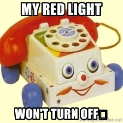 Sinister Phone - My Red Light Won't Turn Off😢