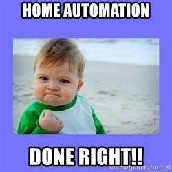 Baby fist - Home Automation Done Right!!