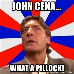 Regal Remembers - John Cena... What A Pillock!