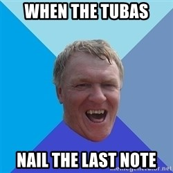 YAAZZ - when the tubas  nail the last note