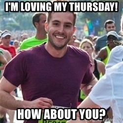 Incredibly photogenic guy - I'm loving my Thursday! How about you?