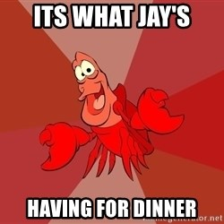 Crab - ITS WHAT JAY'S HAVING FOR DINNER