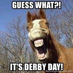 Horse - Guess what?! It's Derby day!
