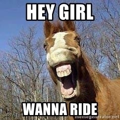 Horse - Hey Girl Wanna ride