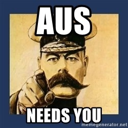 your country needs you - AUS Needs You