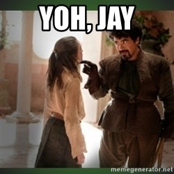 What do we say to the god of death ?  - Yoh, jay