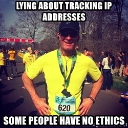 MikeRossiCheat - LYING ABOUT TRACKING IP ADDRESSES Some people have no ethics