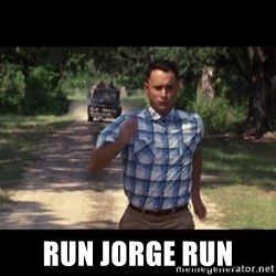 run forest -  RUN JORGE RUN