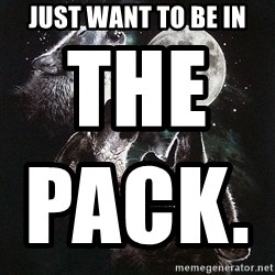 Lone Wolf Pack - Just Want To Be In The Pack.