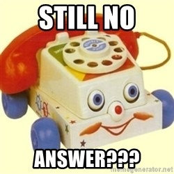 Sinister Phone - Still No Answer???
