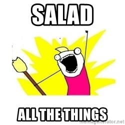 clean all the things blank template - Salad all the things