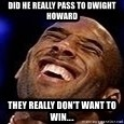 Kobe Bryant - Did he really pass to Dwight Howard They really don't want to win....