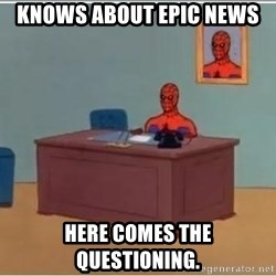 spiderman masterbating - Knows about epic news Here comes the questioning.