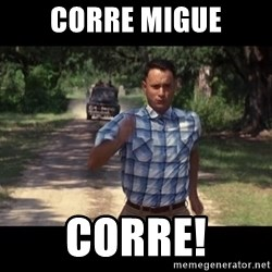 run forest - CORRE MIGUE CORRE!
