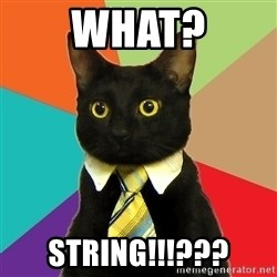 BusinessCat - What? STRING!!!???