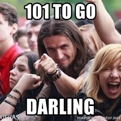 Ridiculously Photogenic Metalhead Guy - 101 to go Darling