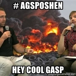 MHTBallers - # AGSPOSHEN HEY COOL GASP