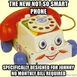 Sinister Phone - the new not so smart phone specifically designed for Johnny no monthly bill required