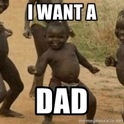 Little Black Kid - i want a dad
