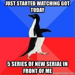 Socially Awkward to Awesome Penguin - JUST STARTED WATCHING GOT TODAY 5 SERIES OF NEW SERIAL IN FRONT OF ME