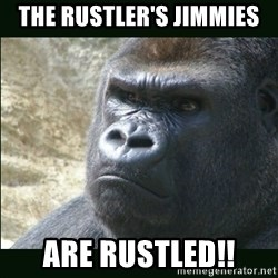 Rustled Jimmies - The Rustler's Jimmies Are Rustled!!