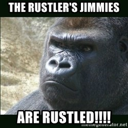 Rustled Jimmies - The Rustler's Jimmies Are Rustled!!!!