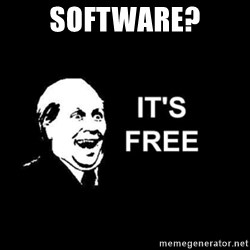 it's free - Software?