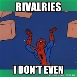 60's spiderman - Rivalries I Don't Even