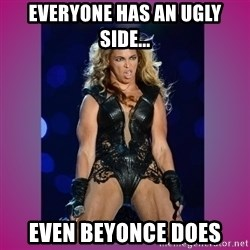 Ugly Beyonce - Everyone has an ugly side... even beyonce does