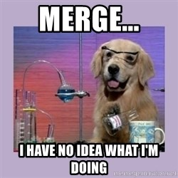 Dog Scientist - Merge... i have no idea what i'm doing
