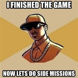 Gta Player - I finished the game now lets do side missions