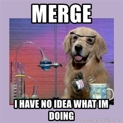 Dog Scientist - Merge I have no idea what Im doing