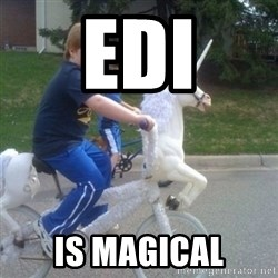 unicorn - EDI IS MAGICAL