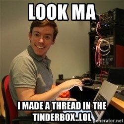 Ridiculously Photogenic Journalist - look ma I made a thread in the tinderbox..lol